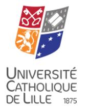 Fédération Universitaire et Polytechnique de Lille website
