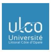 Université du Littoral Côte d'Opale website