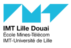 IMT Lille-Douai website